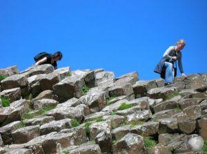 Giant's Causeway-Sophie-Lisa climbing_2402529000096713974
